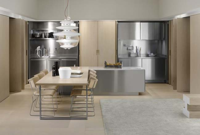 Modern Italia Kitchen Designs From Arclinea