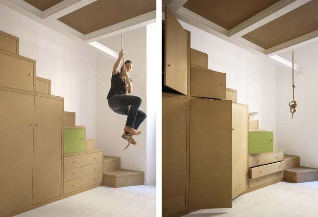 Creative small loft in Italy