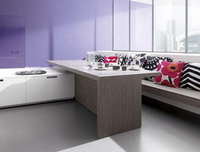 Minimalist kitchen designs by Comprex