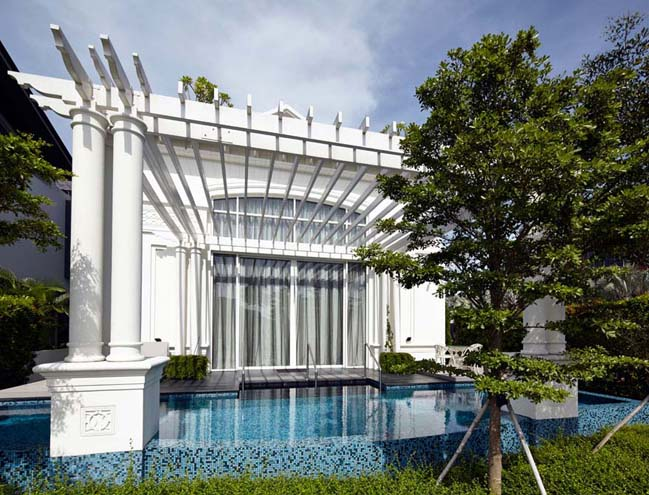 Luxury classic and contemporary mansion in Singapore
