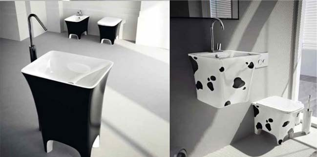 Unique bathroom designs by ArtCeram
