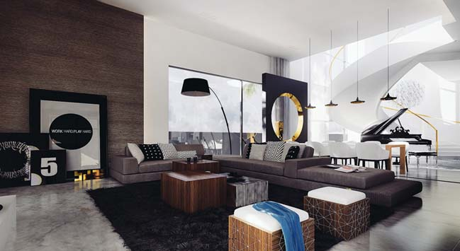18 beautiful living room designs in modern style