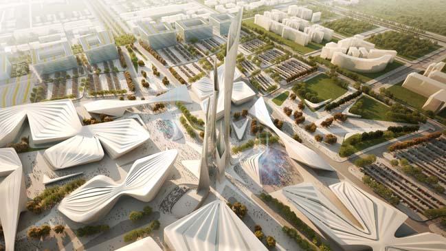 Astana EXPO 2017 Future Energy by Zaha Hadid