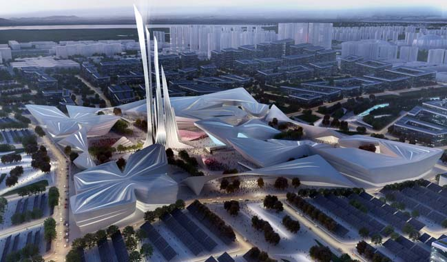 Astana EXPO 2017 Future Energy by Zaha Hadid