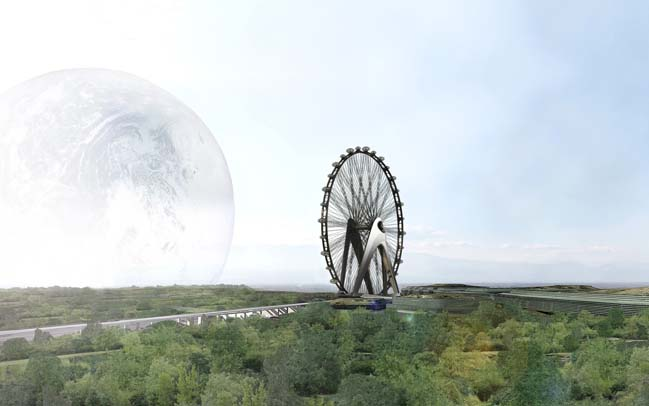 Nippon Moon Giant Observation Wheel in Japan