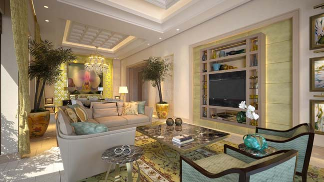 Ultra luxury villa in UAE Palm Jumeirah Dubai