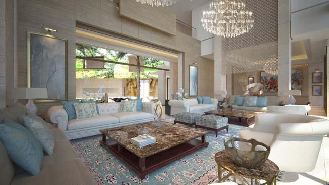 Ultra luxury villa in UAE Palm Jumeirah Dubai