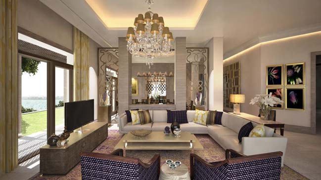 luxury villa in UAE Palm Jumeirah Dubai