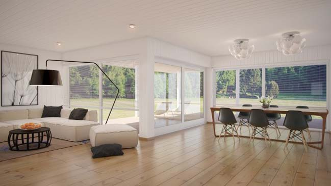 space living room designs with dining room