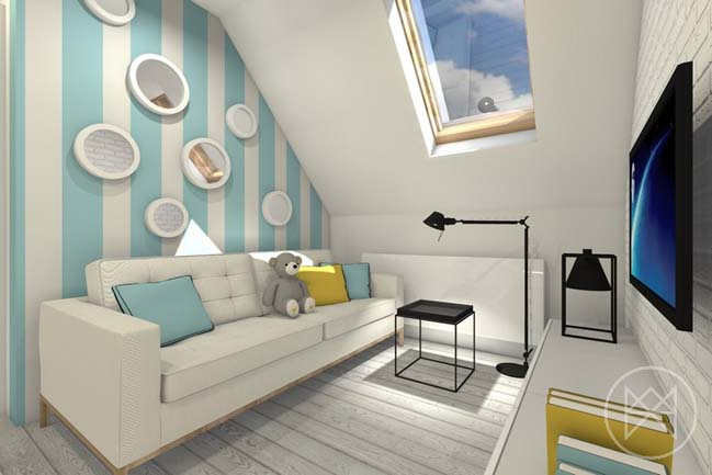 Bright small apartment 30sqm in Poland