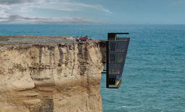 Cliff House in Australia by Modscape