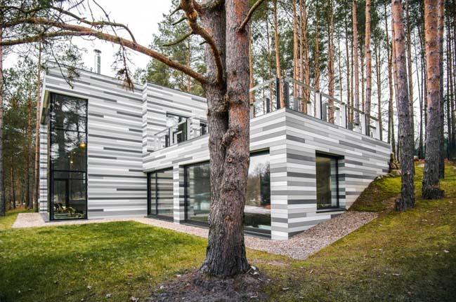 House Villa Near Vilnius by GYZA