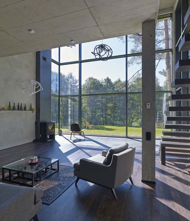 House Villa Near Vilnius by GYZA