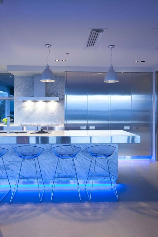 12 kitchen designs integrated led light by mal corboy for Lighting for interior design malcolm innes