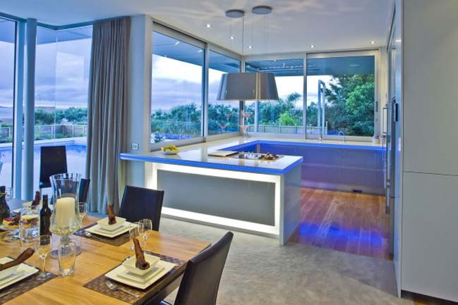 12 kitchen designs integrated LED light by Mal Corboy