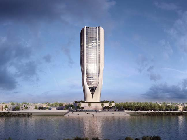 Central Bank of Irag by Zaha Hadid Architects