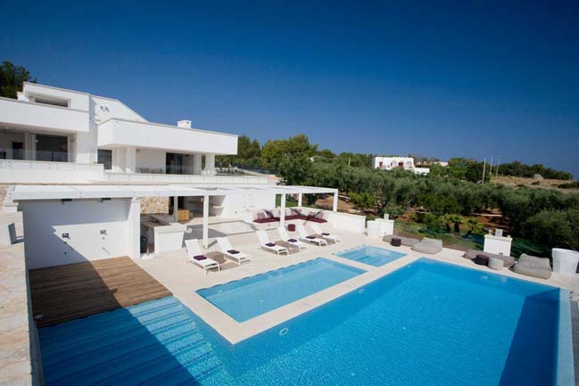 Stunning villa with sea view in Lecce