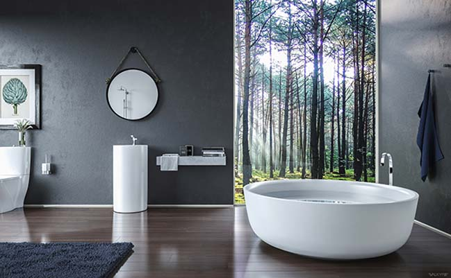 Modern bathroom design ideas by Valkyrie Studio