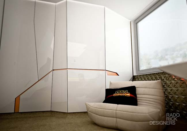 Star Wars apartment by Rado Rick Designers