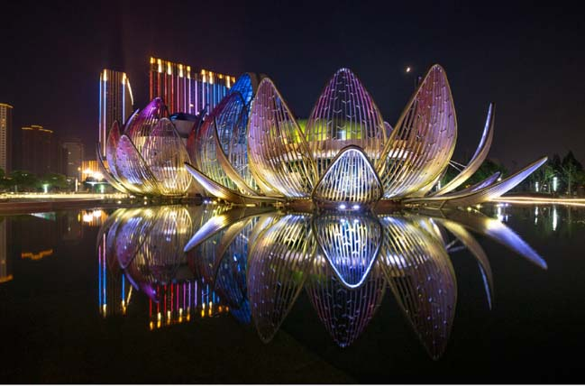 The Lotus Building in China