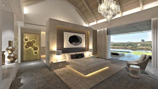 De zalze 190 luxury villa in stellenbosch for South african bedroom designs
