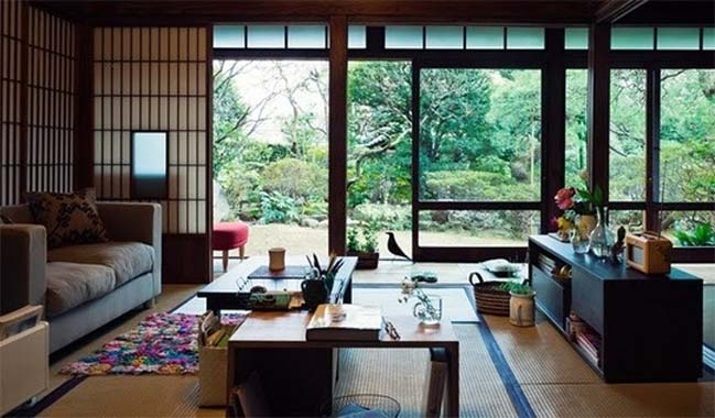 Japanese living room designs