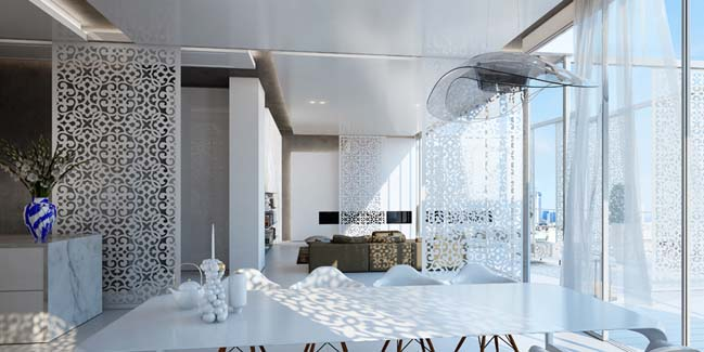 Sunny penthouse by Ando Studio
