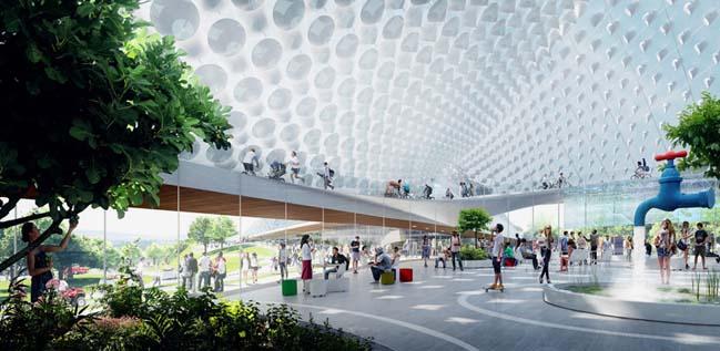 Amazing structure of new Google headquarters in California