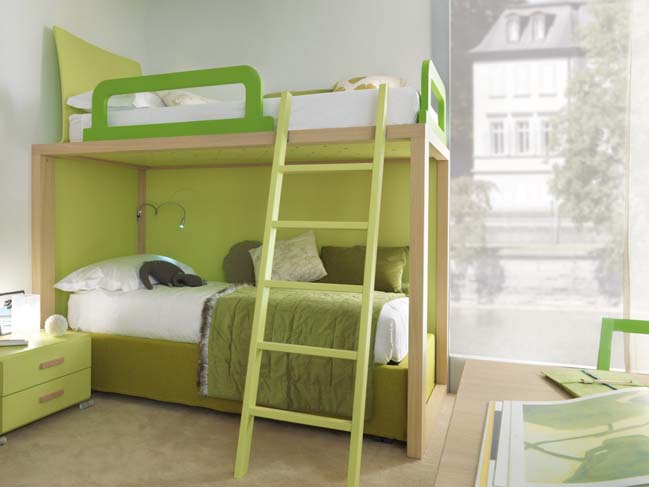 Colorful childern bedrooms from Dearkids