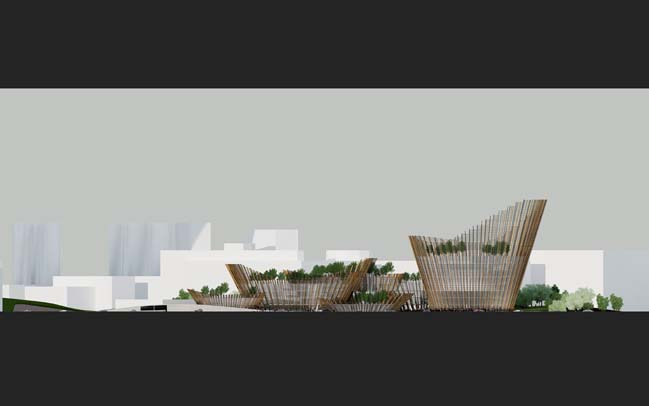 Taichung City Cultural Centre by Maxthreads