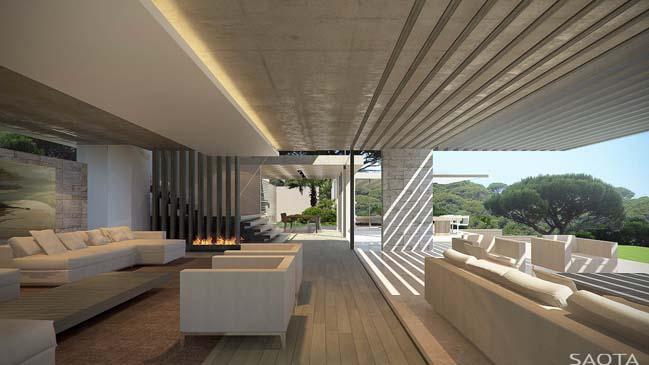 Luxury contemporary villa in St Tropez, France