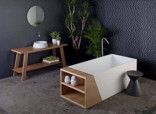 The Latis bathroom design by Omvio