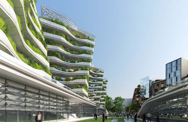 City of science in Rome by Vincent Callebaut