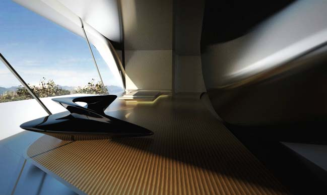 Nassim Villas: luxury futuristic houses by Zaha Hadid