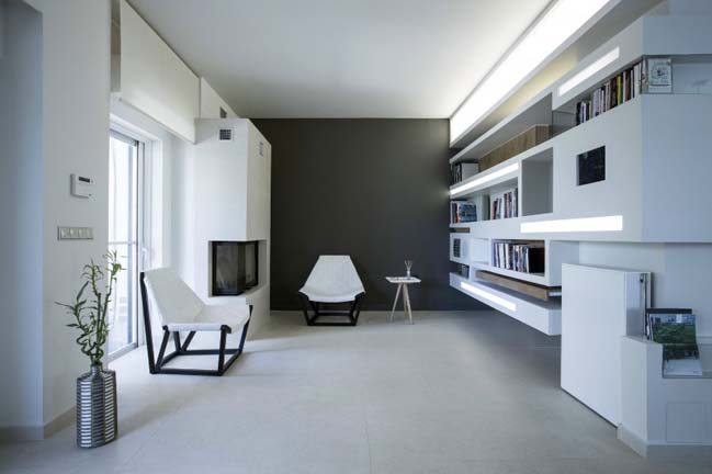 Contemporary apartment by NL Studio Architecture Design