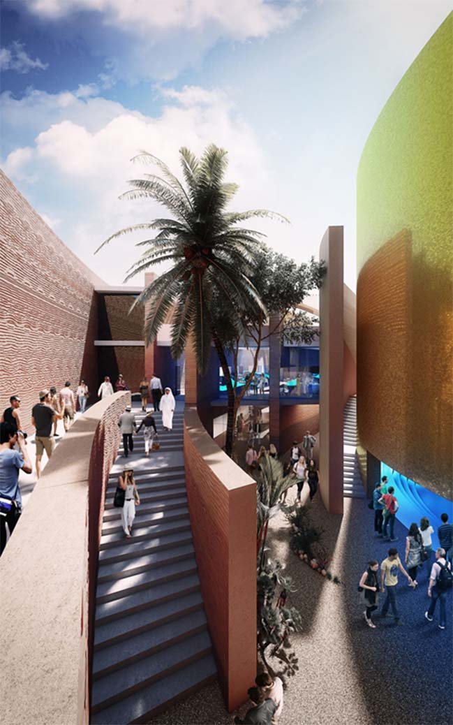 UAE pavilion for 2015 Milan Expo
