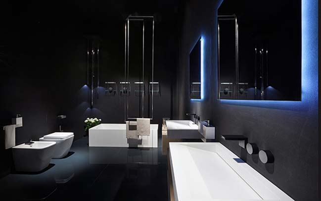 Rifra Luxury Modern Bathroom Designs With Light Effect