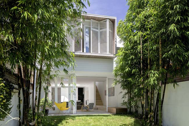 Contemporary townhouse in Australia