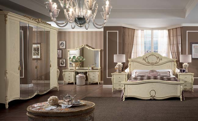 Tiziano Romantic and fantasy classical bedroom design