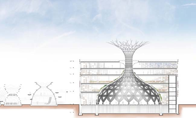 Tree of Life: Italian pavilion for Expo Milan 2015 by EMBT