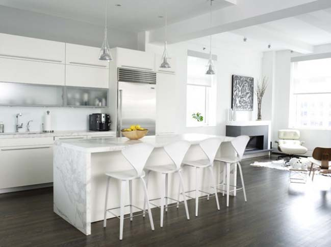 18 white elegance kitchen designs
