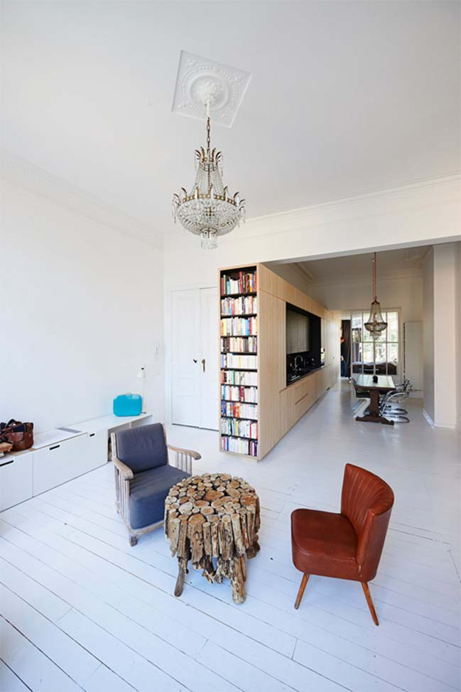 Transformation apartment 70m2 in Brussels