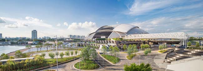 Singapore Sports Hub by DP Archtiects
