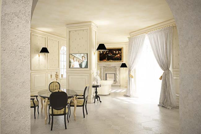 Neoclassical House: Luxury villa in Italy