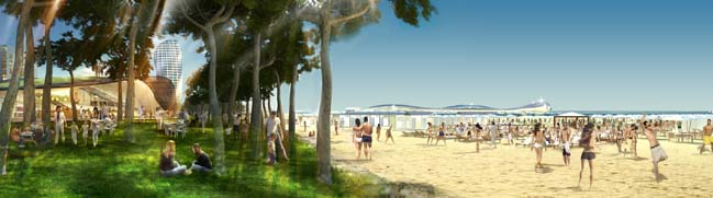 Rimini Seafront by Foster + Partners