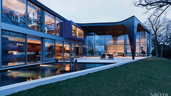 CH Lake House by SAOTA
