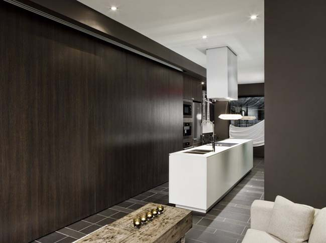 Contemporary townhouse in Toronto, Canada