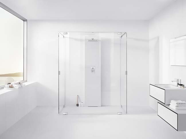 Modern And Minimalist Bathroom Design By Inr