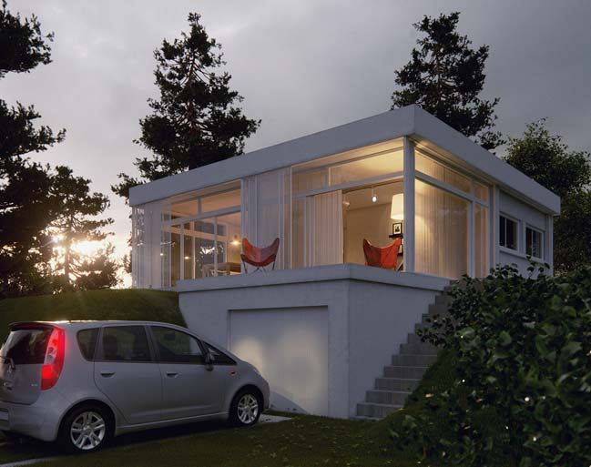 Small house renovation in Uruguay