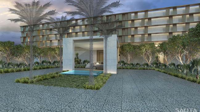 Luxury villa in Bahrain by SAOTA
